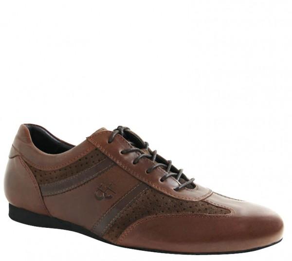 Tanz-Sneaker braun